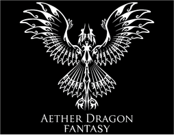 Aether Dragon Fantasy Logo by aetherfang