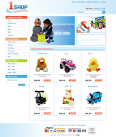 1 shop ecommerce website by ruakbar