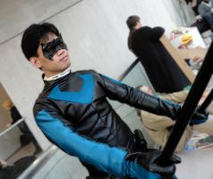 Nightwing Cosplay Pic 2 NYCC 2012 by DKANG0316