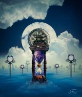 The Great Hourglass And The Paradise Of The Time by PriscillahSanttana