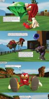 Knuckles' Downfall by MeltingMan234