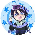 Yato Button Design by ZeroJigoku