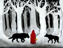 Red Riding Hood by Fervid-Rain