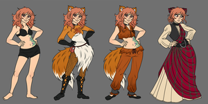 Commission - Viksen wardrobe by roryseviltwin