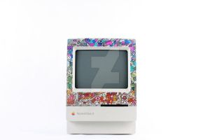 Mac Classic II Illustration by MrHodgey