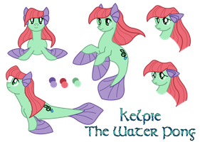Kelpie: The Water Pony by SaturnGrl
