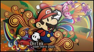 Super Mario Paper Vector Siggy by DirTek