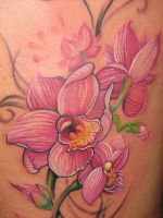 orcid- close view by artcoretattoo