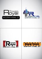 royal tower LOGO by ReemElhwtk
