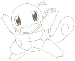 Pokemon_Squirtle by bluepelt