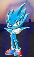 Nazo the Hedgehog by spdy4