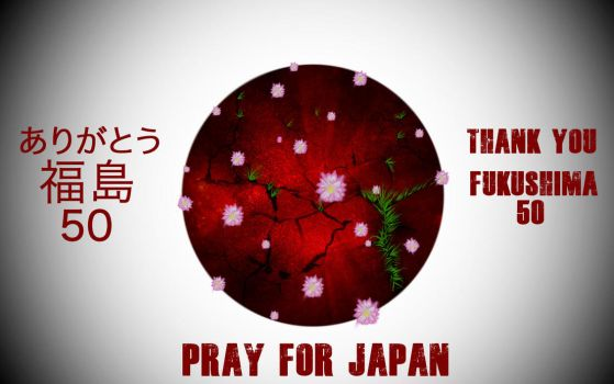 Pray for Japan by Coyote-Productions