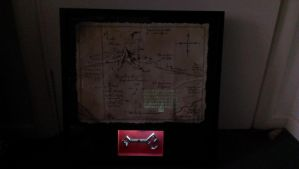 Thorin's map with back-lit frame by RollingTombstone