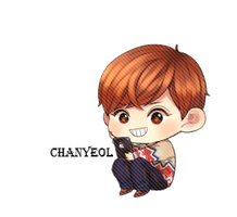 EXO Chanyeol Chibi PNG by SooyoungLover