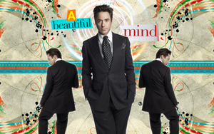 A beautiful mind wall by Tiate