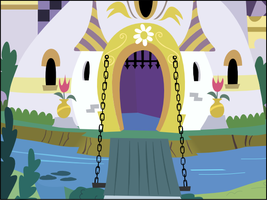 Canterlot Castle Vector Background by BakaBrony
