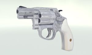 Smith Wesson Engraved Model 60 by Wallcrawler62