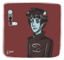 Palette: Karkat Vantas by StaticColour