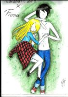 Fiona And Marshall Lee Love By Panxi Marceline Vam by Finnlover2052