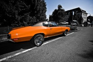 orange Buick GS by AmericanMuscle
