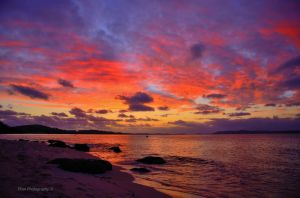 After Sunset at Port Stephens by cpool