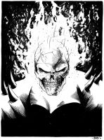 Ghost Rider sketch by JulienHB