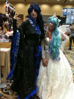 Princess Luna And Celestia by The-Winter-Cosplayer