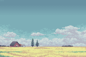 Under a Prairie Sky by AprilSundae