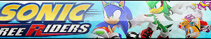 Sonic Free Riders Button by ButtonsMaker