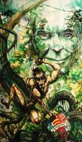 TARZAN LORD GREYSTOKE by BERLINsART