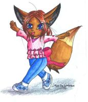 Cheryll the Eevee by MattTheUmbreon