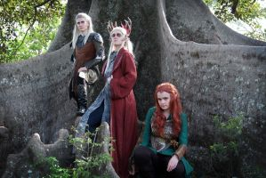Mirkwood Elves by TeamSatisfaction