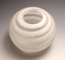 clear and white vessel by sjacklyn