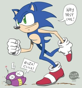Sonic the Hedgehog 2009 by tylersticka