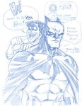 Batman and Robin sketchity by thejeremydale