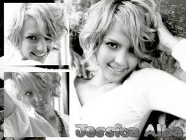 Jessica Alba Wallpaper 1 by AlbaAngel
