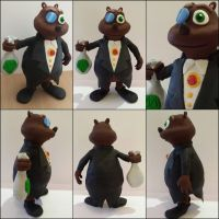 Moneybags Sculpture by frozendragonflames