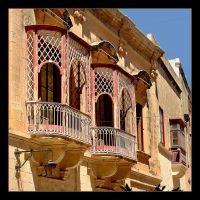 Balcons In Mdina City by skarzynscy