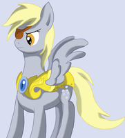 General Derpy (colored) by WolfyOmega