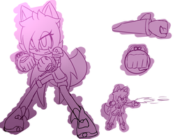 -old design-  knuckles shot by ultimatewino