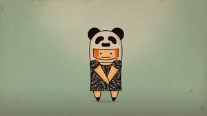 Panda Girl by MaxatdesigN