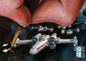 painting an xwing by charles-hall