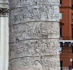 Rome 7a - Detail of Trajan's Column by Okavanga
