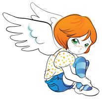 Little angel vector 2 by jkBunny