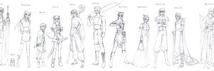 Etheria concept sketches by Erulisse2