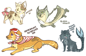 $5 Assorted Adopts CLOSED by Capukat