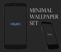 Minimal Shapes phone wallpaper pack by MidwestCrusader