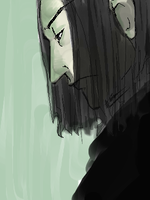 Snape Doodle by LaCidiana