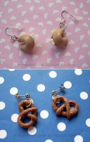 Fortune Cookies and Pretzels by CantankerousCupcake