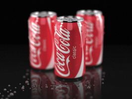 Coca 3d by Damiano79